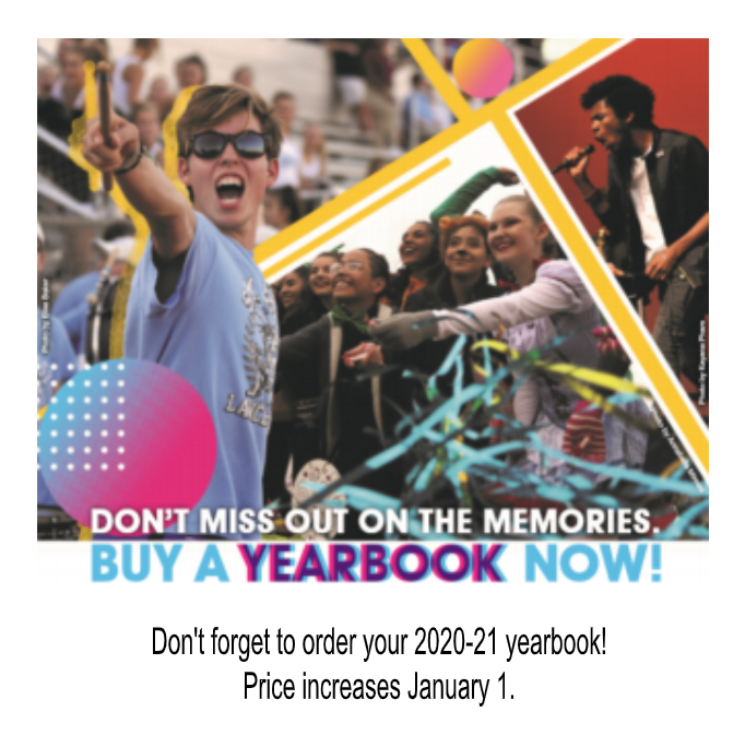 Order Your 2020-21 Yearbook Today