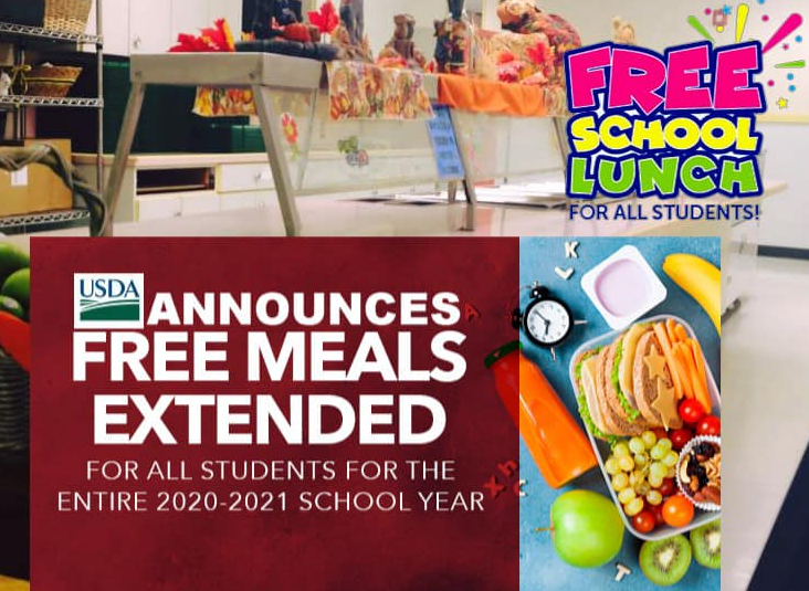 Free meals extended through end of 2020-21 school year