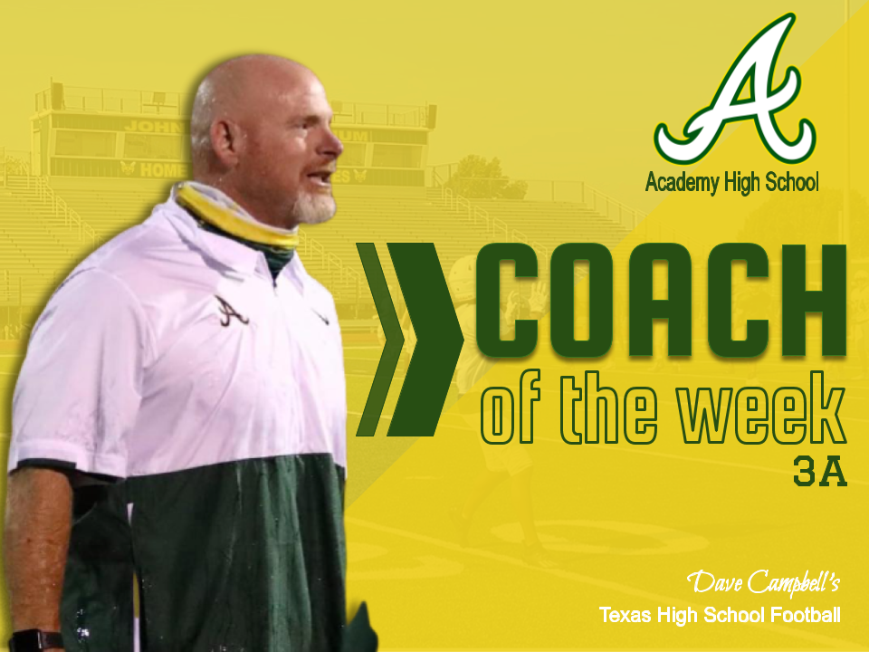 AHS Football Head Coach Named Coach of the Week