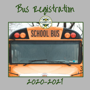 AISD Bus Registration Form 2020-21
