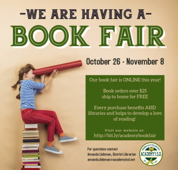 Save the Date: Scholastic Book Fair